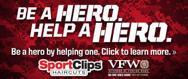 Sport Clips Davie - Tower Shops​ Help a Hero Campaign